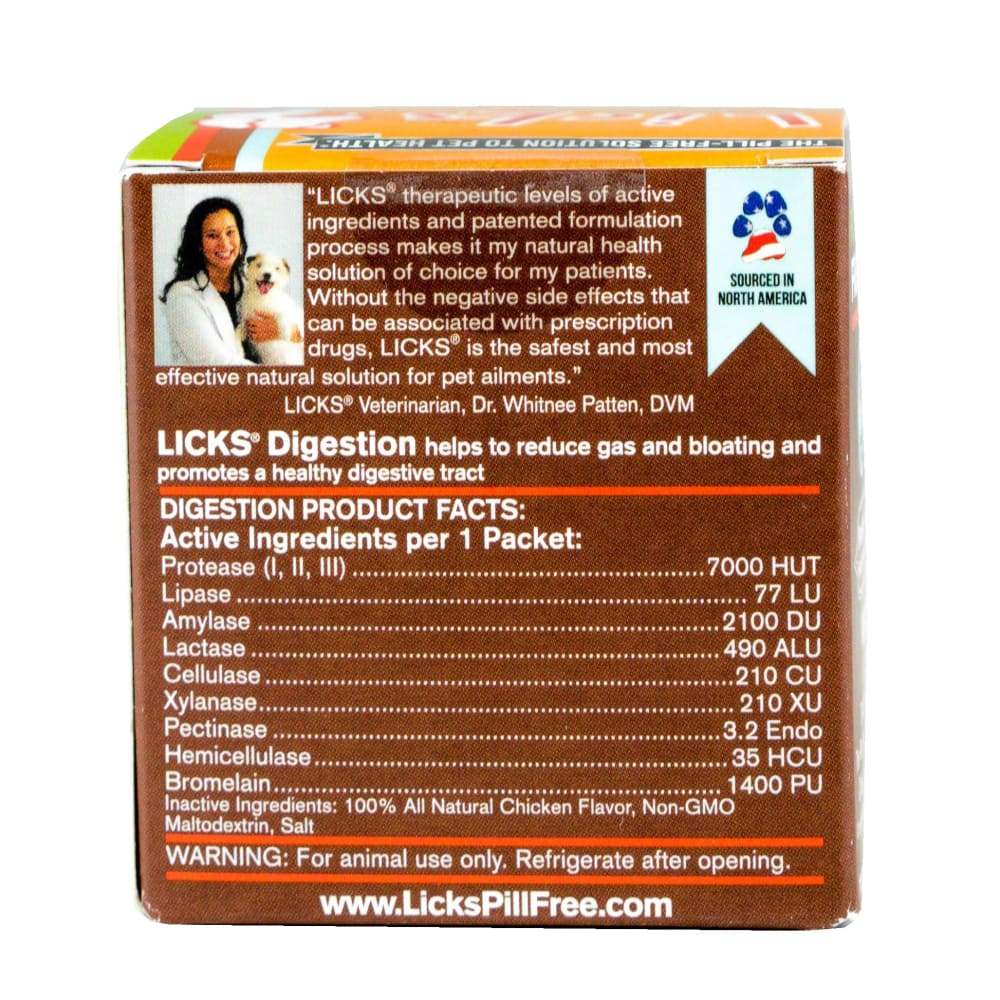 LICKS - Digestion Dog Supplement