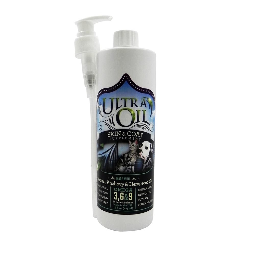 Ultra Oil - Skin & Coat Supplement Dog & Cat