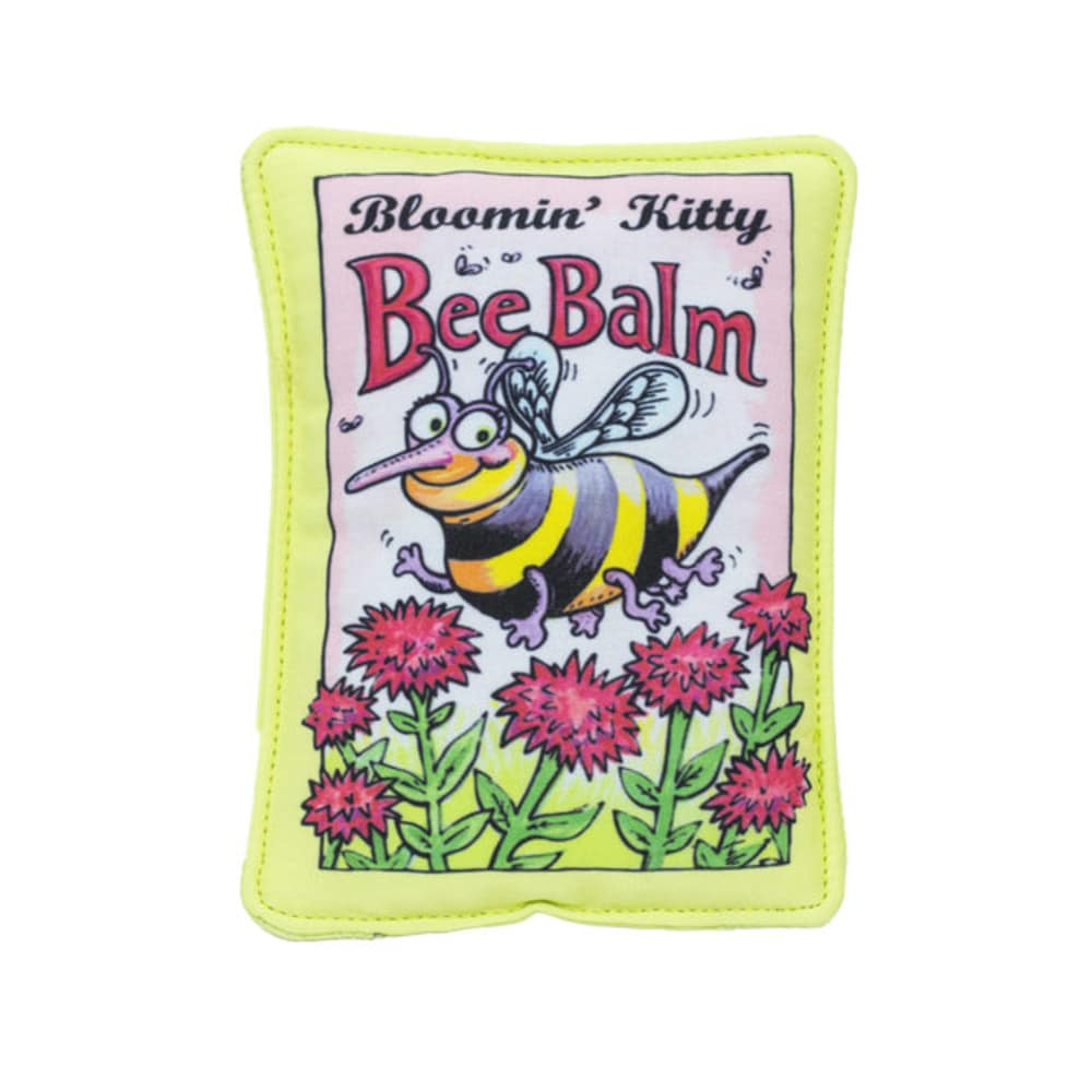Fuzzu - Bee Balm Seed Packet Cat Toy