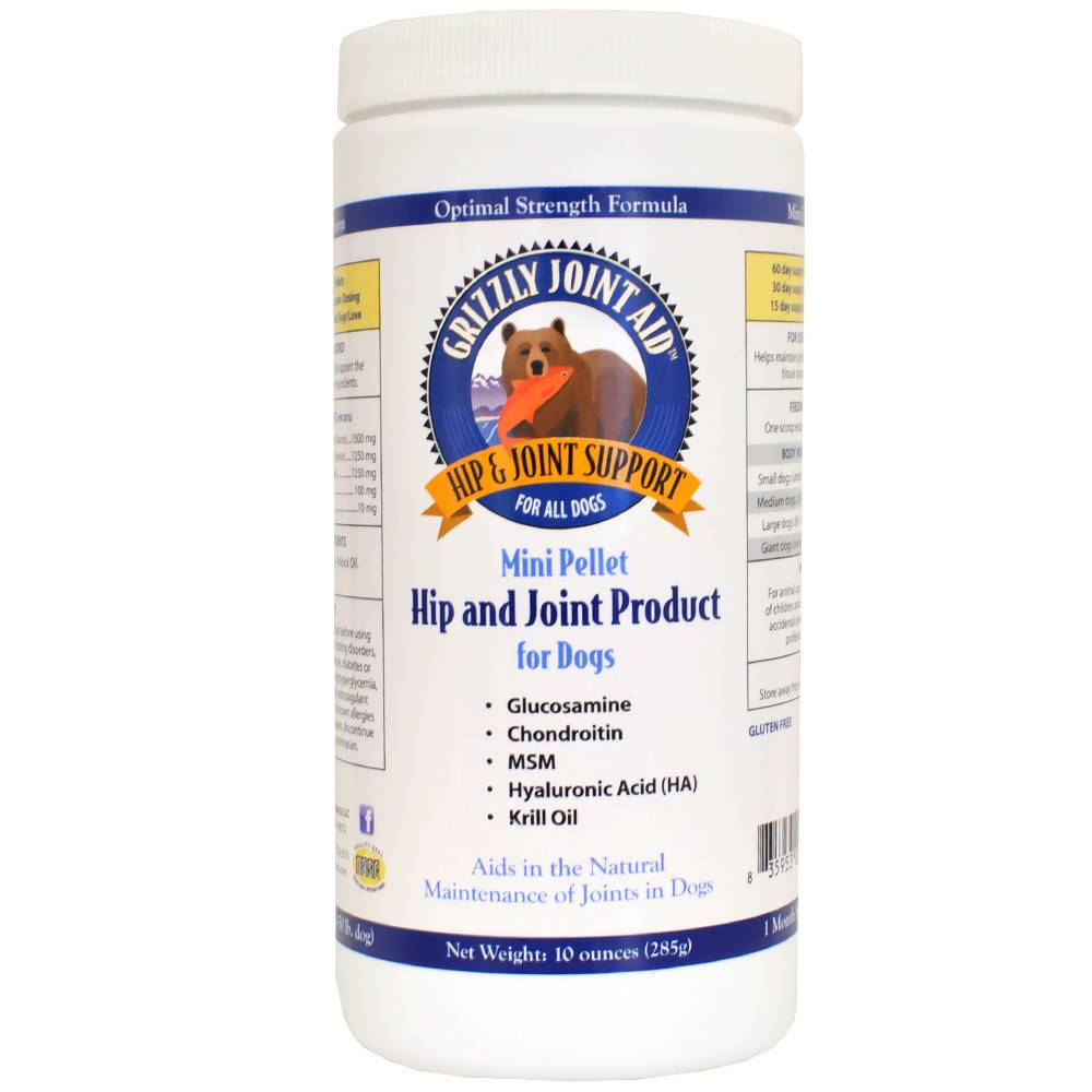Grizzly Pet Products - Hip & Joint Mini Pellet Supplement