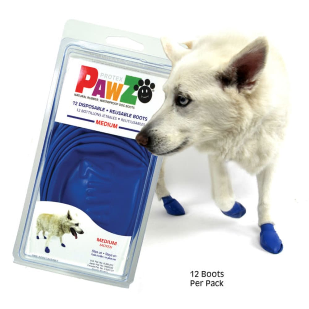 Pawz - Medium Blue Dog Boots
