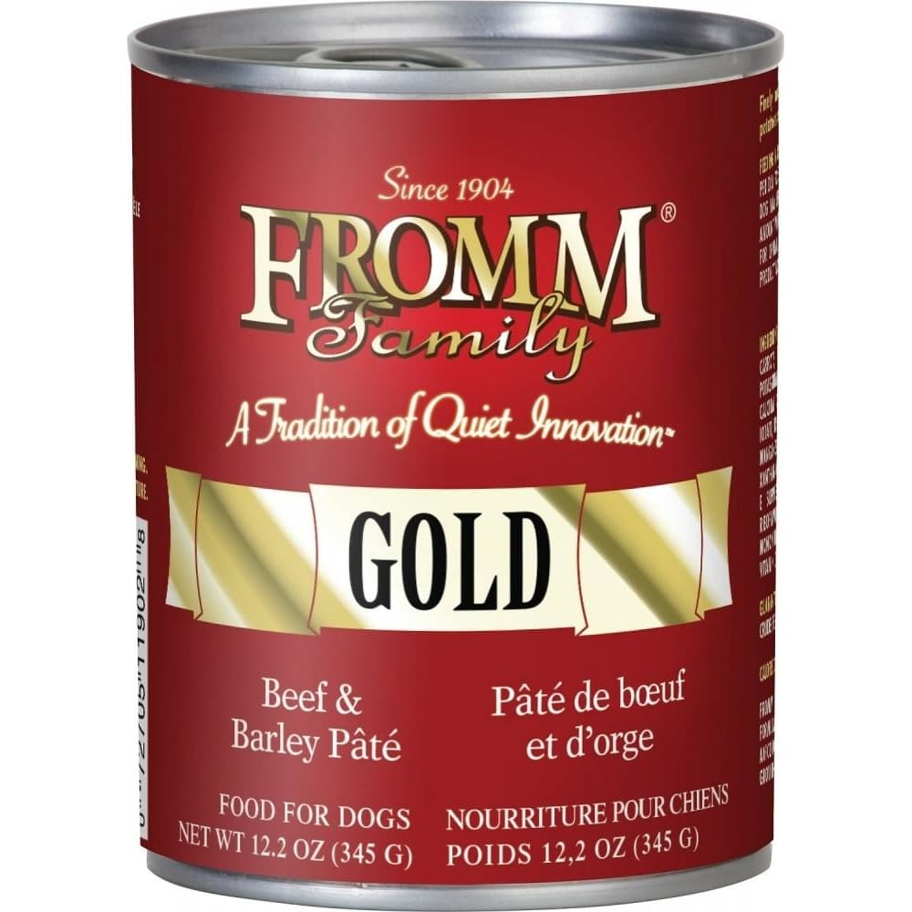 Fromm - Gold Beef & Barley Dog Wet Food, 12.2oz