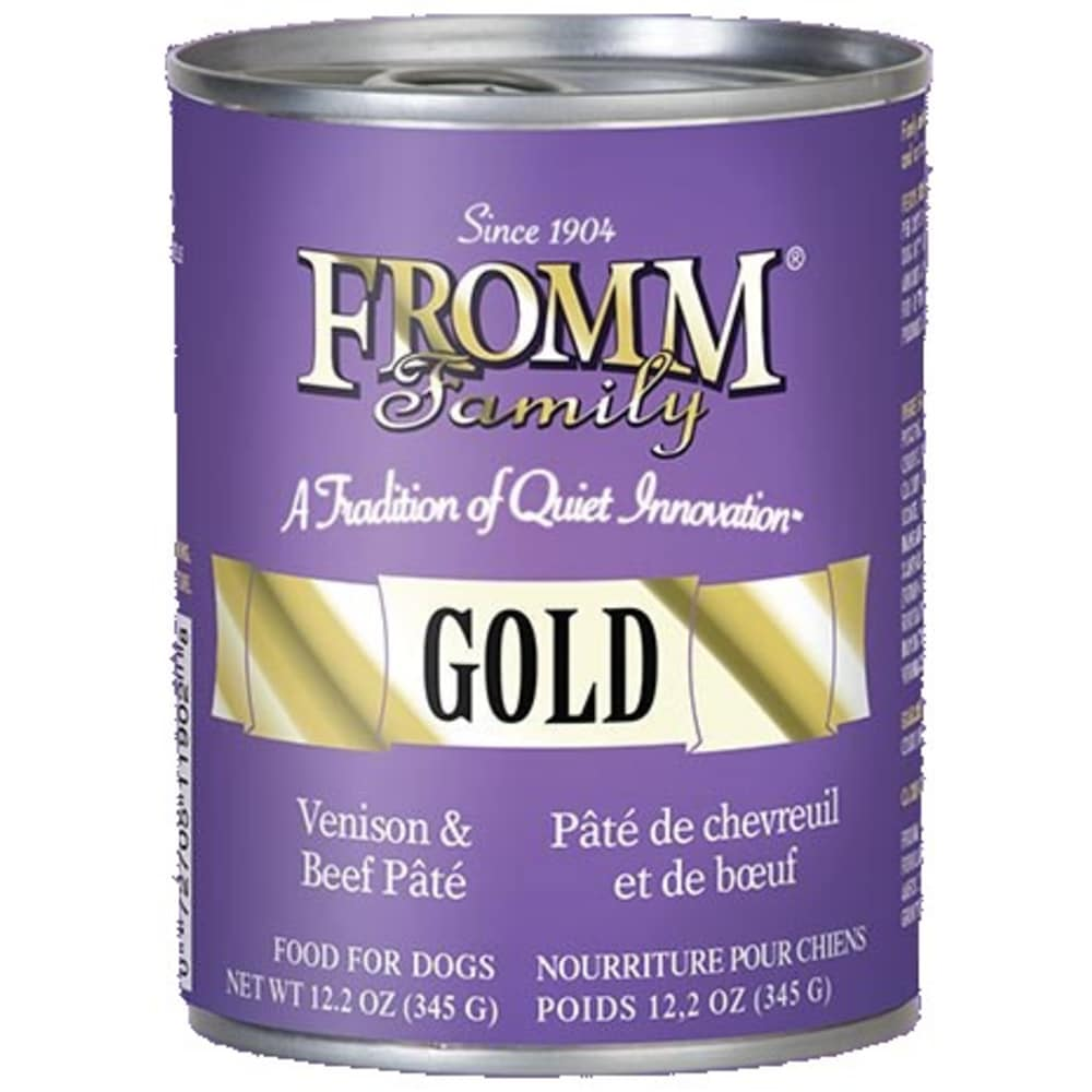 Fromm - Gold Venison & Beef Dog Wet Food, 12.2oz