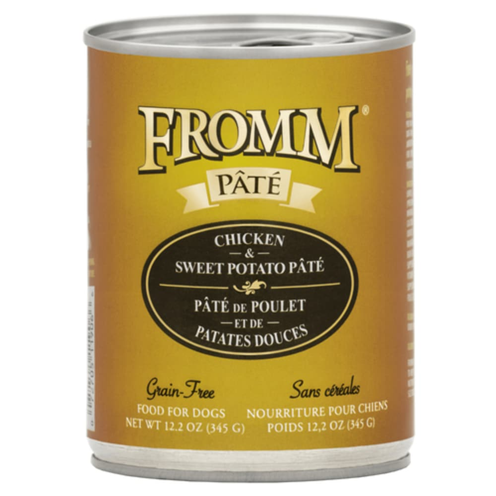 Fromm - Chicken/Sweet Potato Pate Dog Wet Food, 12.2oz