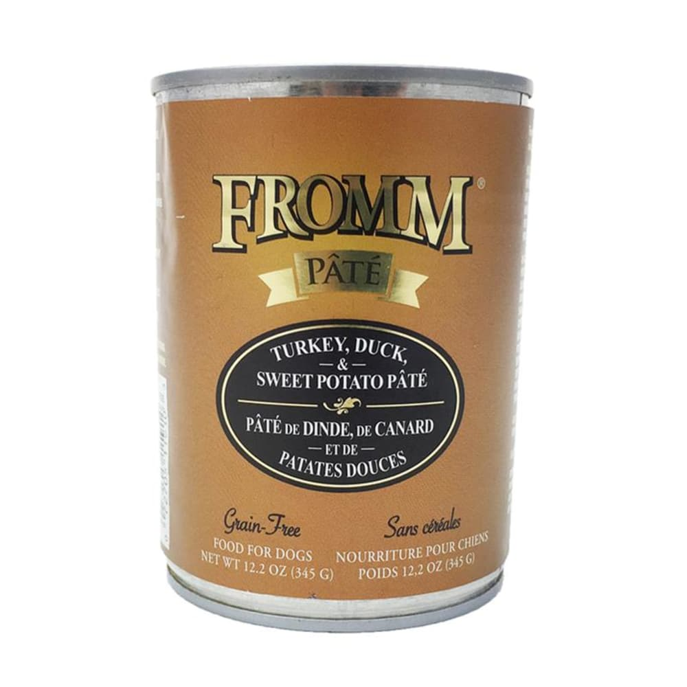 Fromm - Turkey/Duck/Sweet Potato Dog Wet Food, 12.2oz