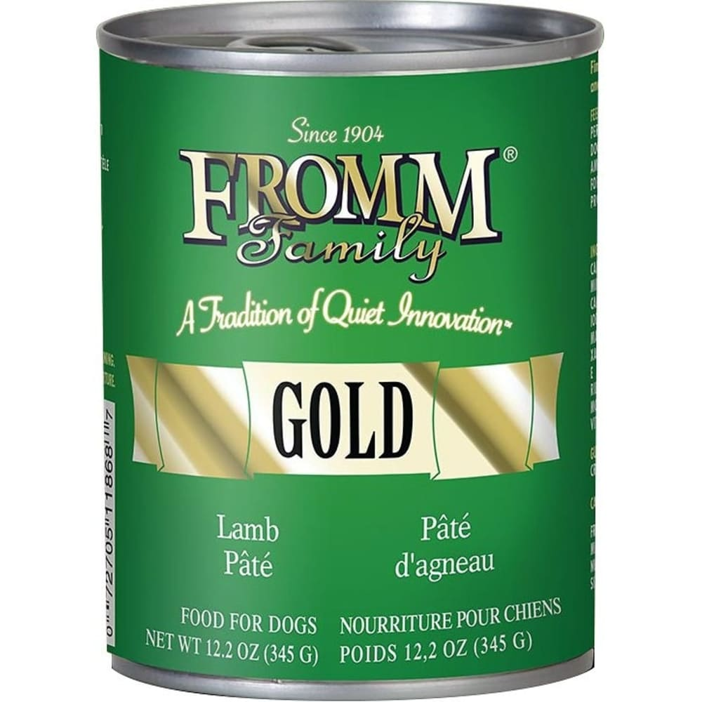 Fromm - Gold Lamb Pate Dog Wet Food, 12.2oz