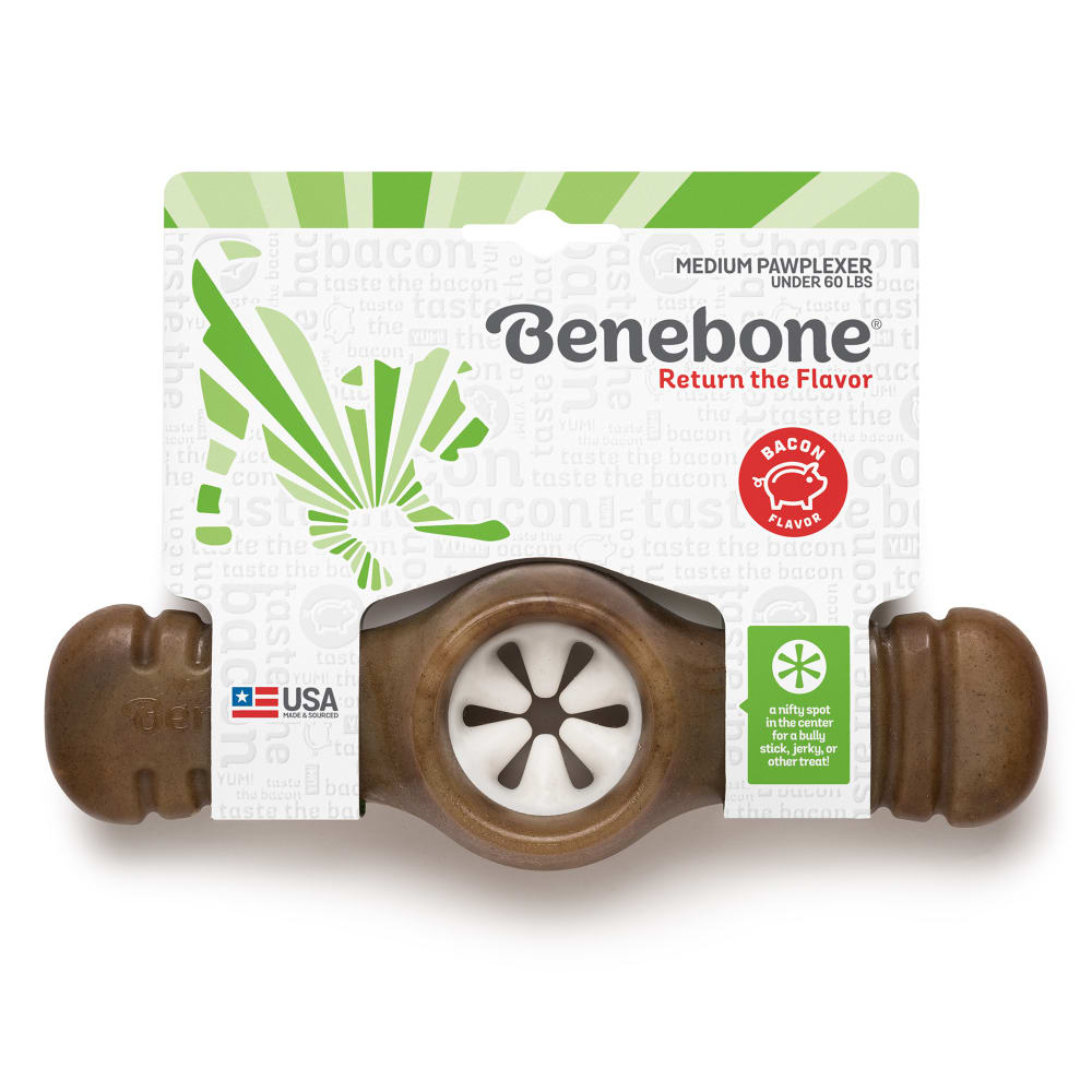 Benebone - Real Bacon Flavored Pawplexer Dog Chew