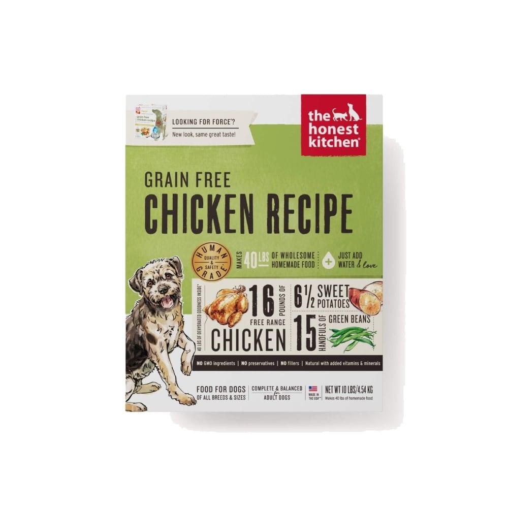 Honest Kitchen - Force Chicken Recipe Grain-Free Dehydrated Dog Food,