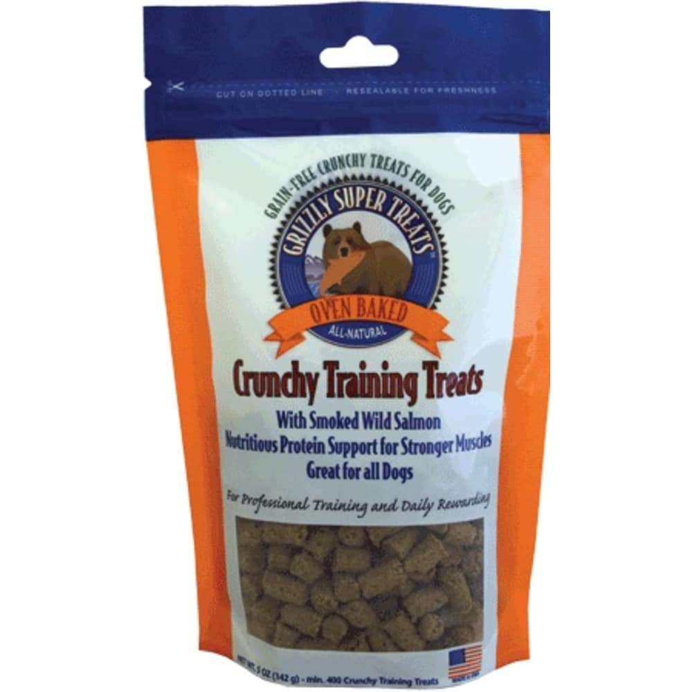 Grizzly Pet Products - Crunchy Wild Salmon Training Treats
