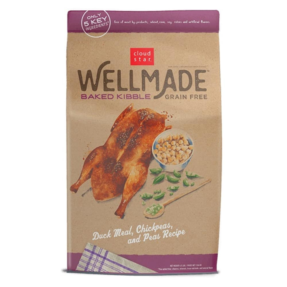 Cloud Star - WellMade Baked Kibble Duck & Peas Recipe