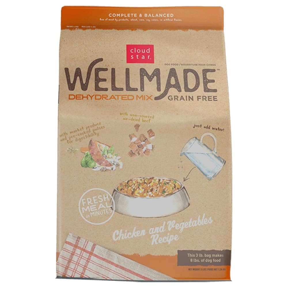 Cloud Star - WellMade Dehydrated Chicken & Vegetables Mix