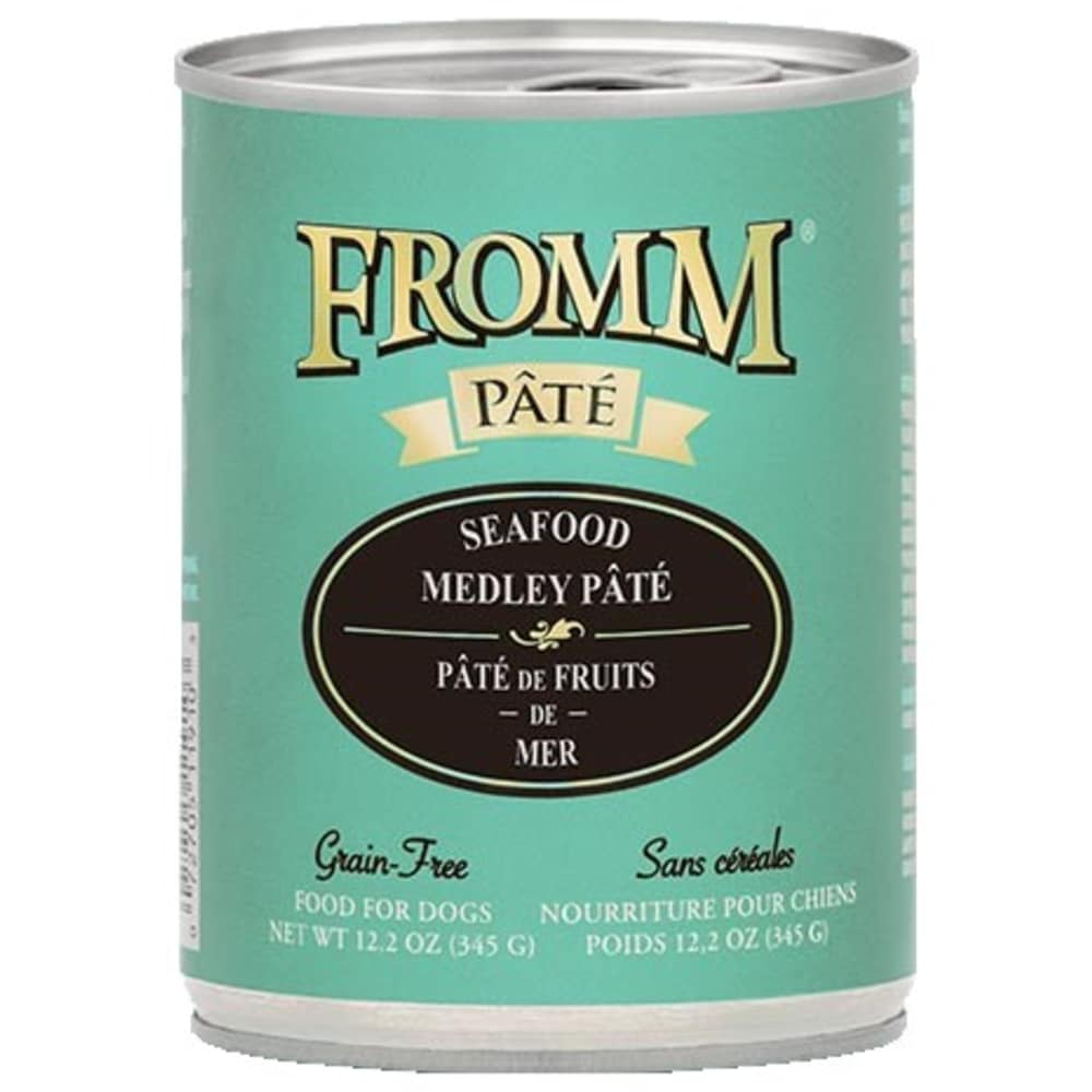 Fromm - Gold Grain Free Seafood Medley Wet Dog Food, 12.2oz