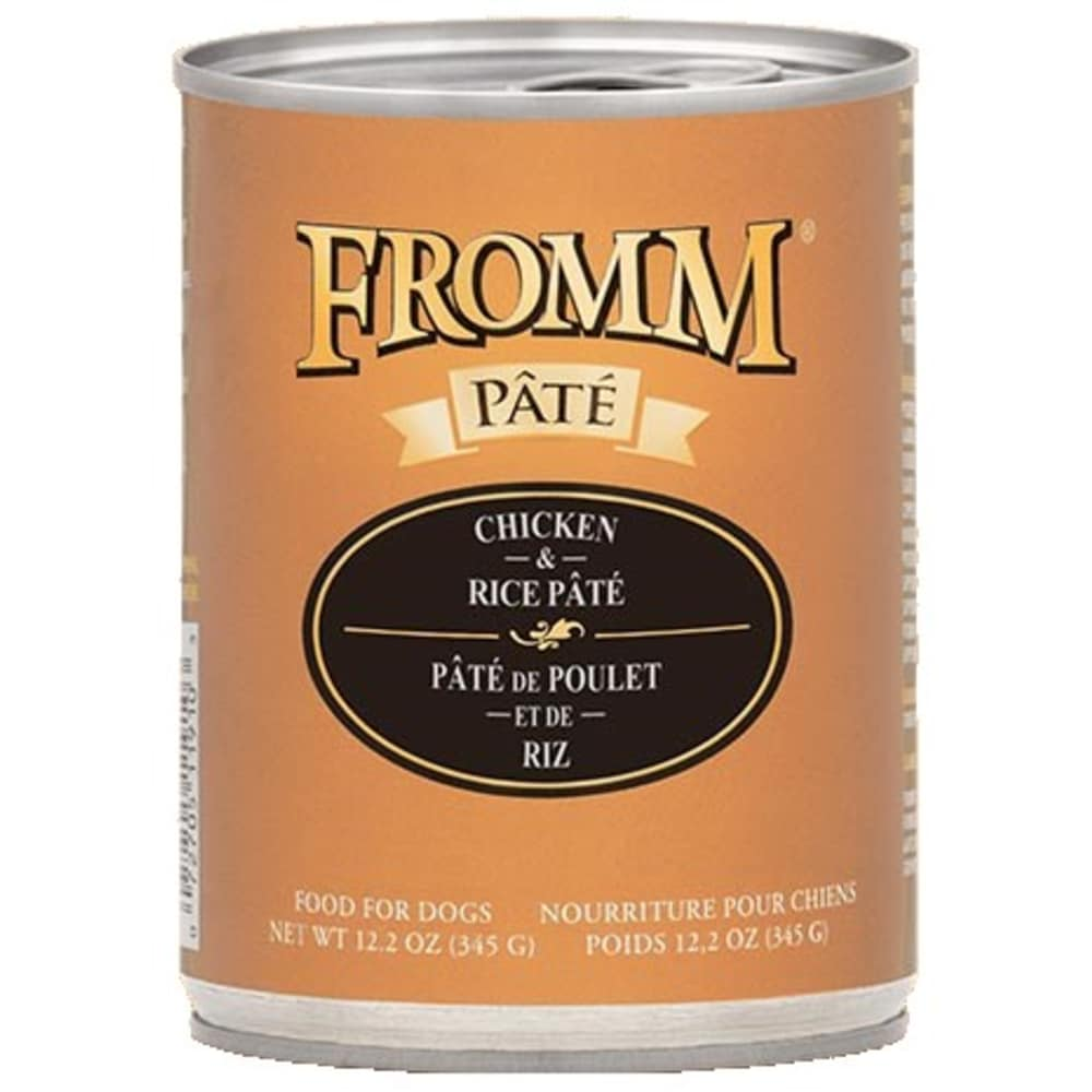 Fromm - Gold Grain Free Chicken & Rice Wet Dog Food, 12.2oz