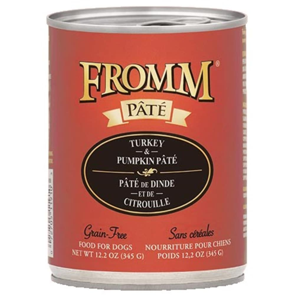 Fromm - Gold Grain Free Turkey & Pumpkin Wet Dog Food, 12.2oz