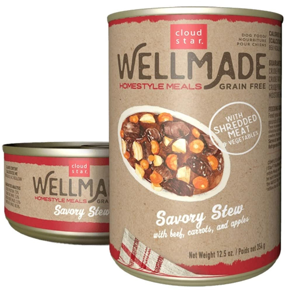 Cloud Star - WellMade HomeStyle Meals Savory Stew With Beef Wet Dog Food