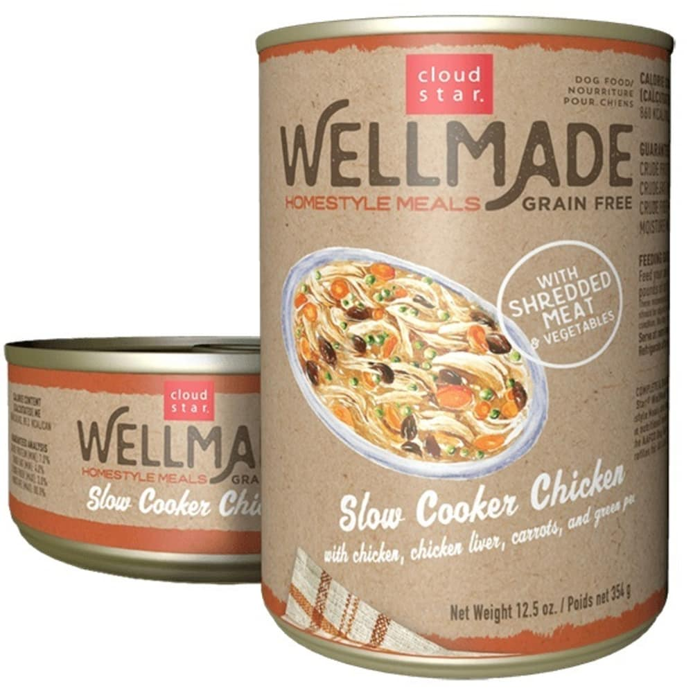 Cloud Star - WellMade HomeStyle Meals Slow Cooker Chicken Wet Dog Food
