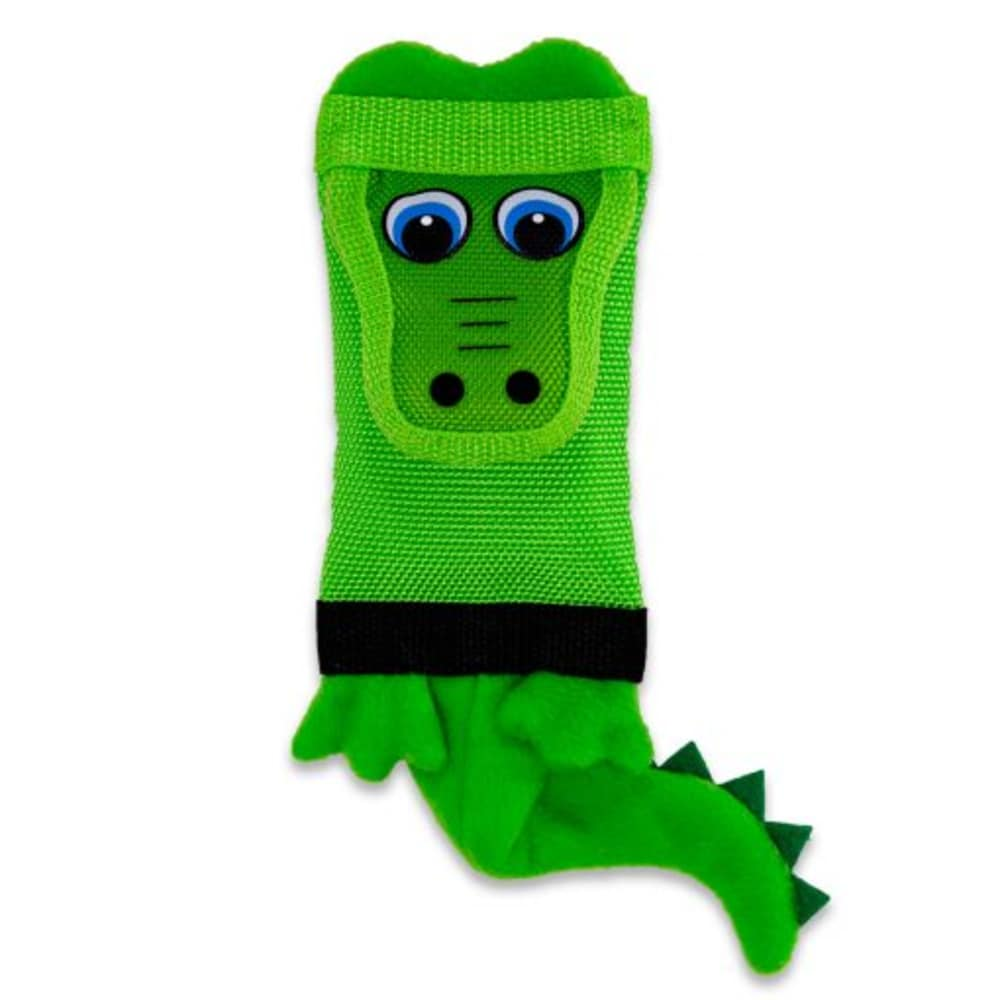 Petlogix - Fire Hose Alligator Dog Toy