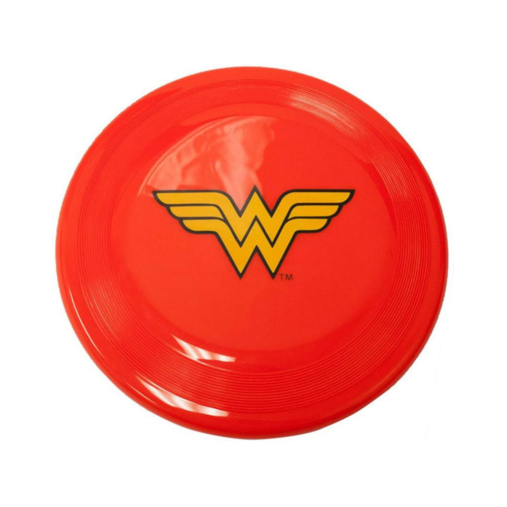 Buckle Down - Wonder Woman Logo Red/Yellow Frisbee