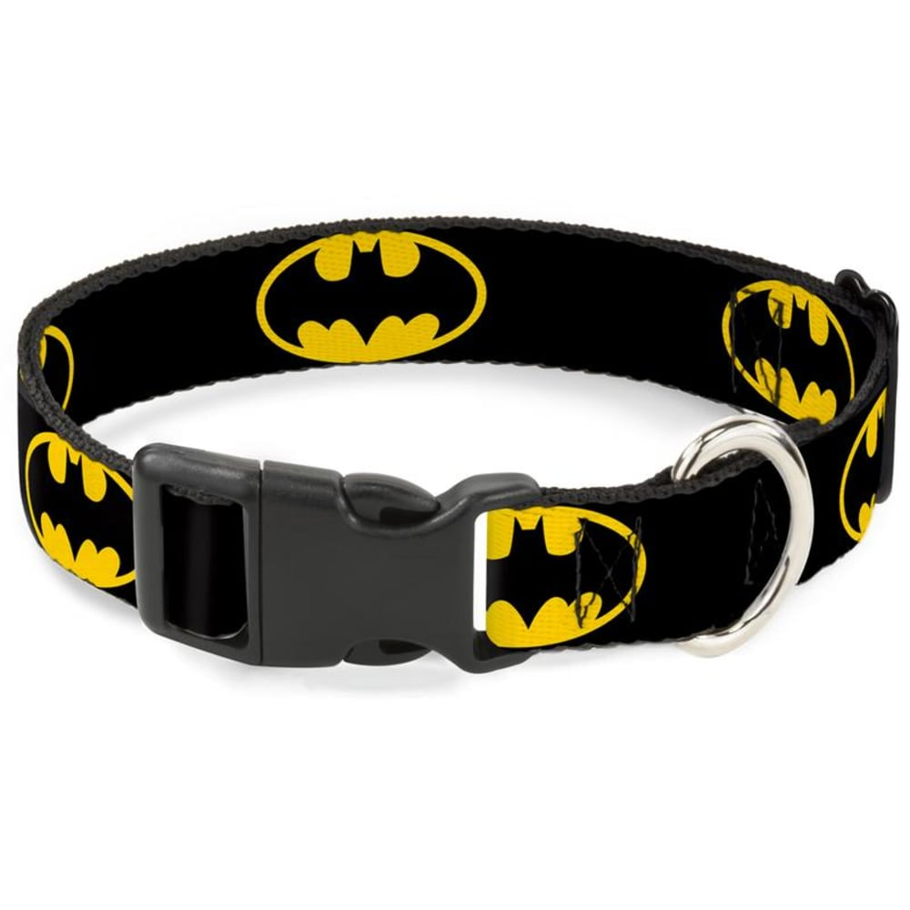 Buckle Down - Batman Shield Clip Dog Collar