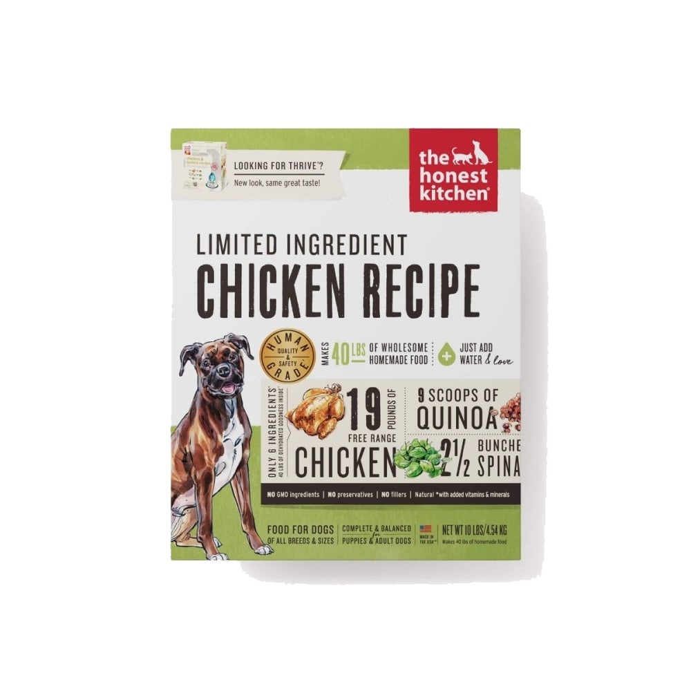 Honest Kitchen - Thrive Chicken & Quinoa Recipe Dehydrated Dog Food
