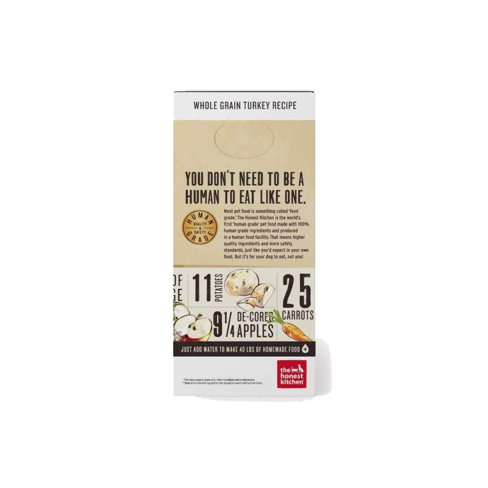 Honest Kitchen - Keen Turkey Recipe Dehydrated Dog Food