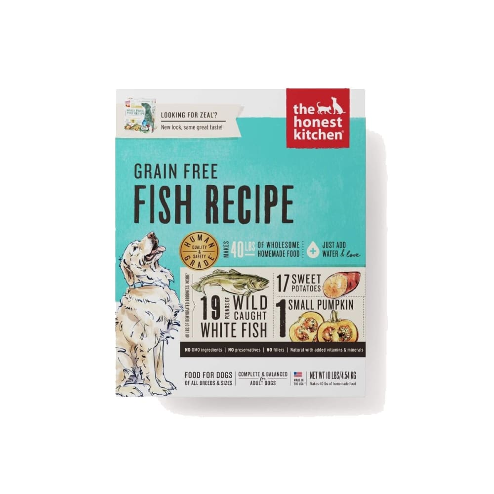 Honest Kitchen - Zeal Fish Recipe Grain-Free Dehydrated Dog Food