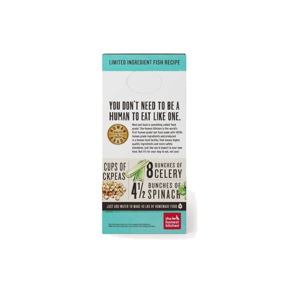 Honest Kitchen - Brave Fish & Coconut Recipe Grain-Free Dehydrated Dog Food