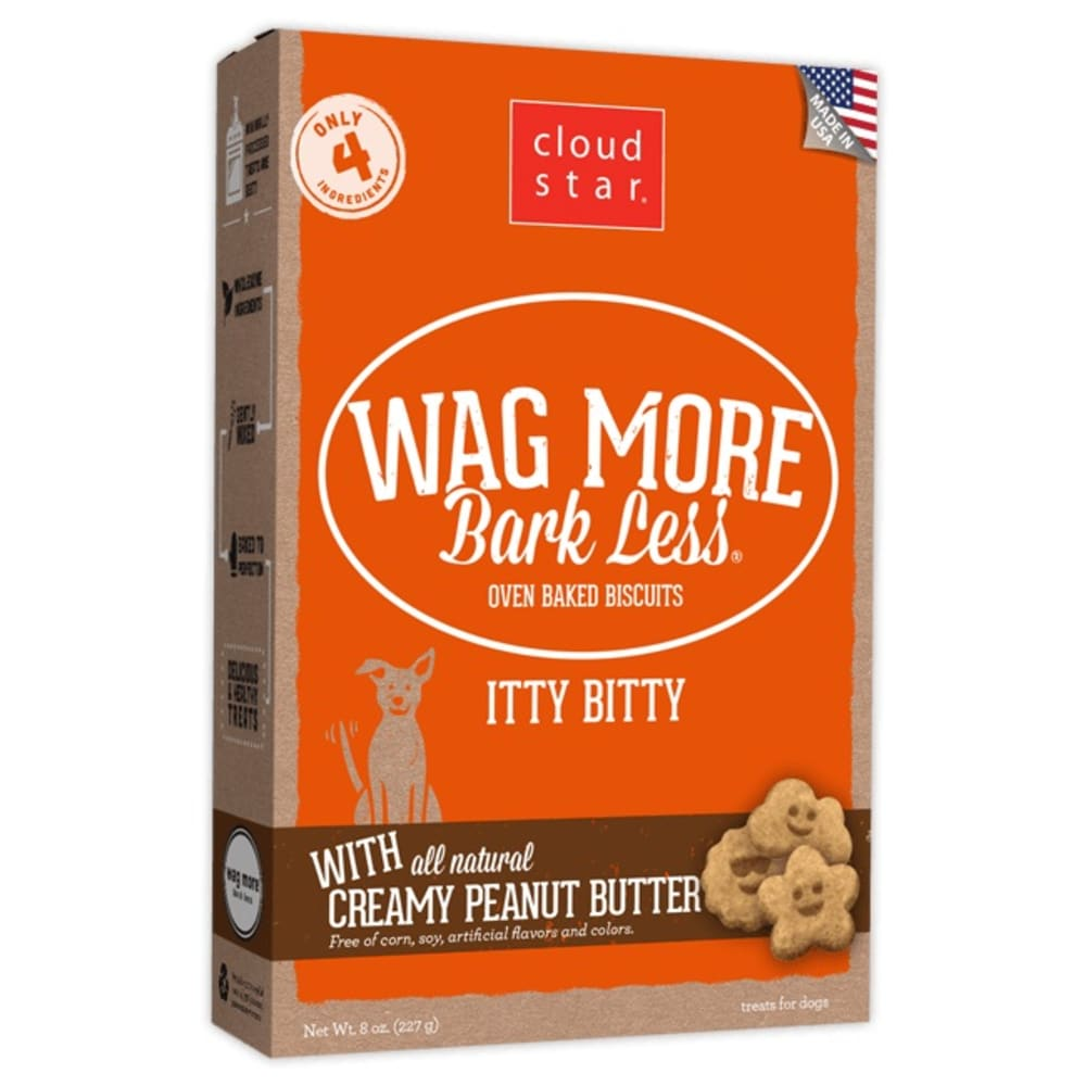 Cloud Star - Wagmore Itty Bitty Creamy Peanut Butter, 8oz