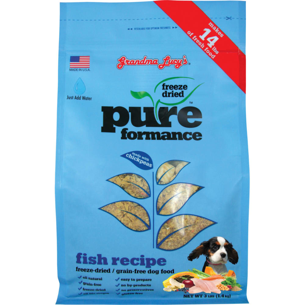 Grandma Lucy's - Pureformance Fish Recipe Grain-Free Freeze Dried Dog Food