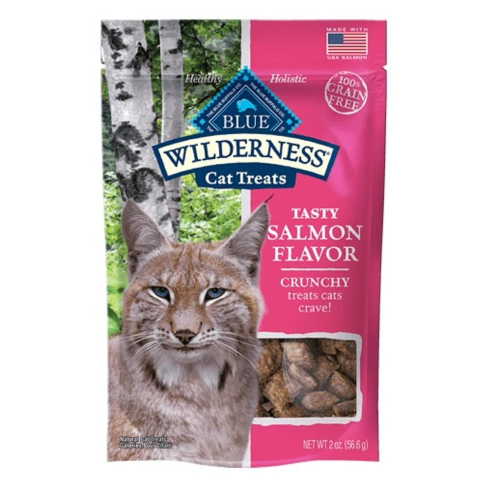 Blue Buffalo - Crunchy Salmon Cat Treats, 2oz
