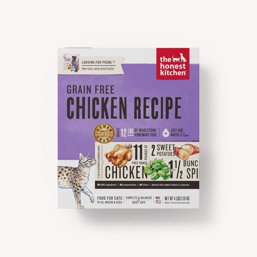 Honest Kitchen - Prowl Chicken Recipe Dehydrated Grain-Free Cat Food, 4lb
