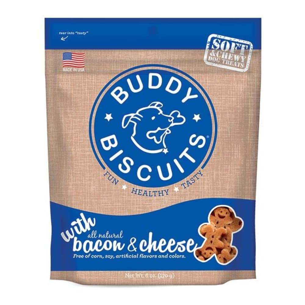 Cloud Star - Buddy Biscuits Soft & Chewy Bacon & Cheese Dog Treats