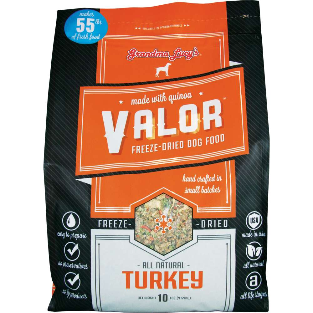 Grandma Lucy's - Valor Turkey Recipe Grain-Free Freeze Dried Dog Food