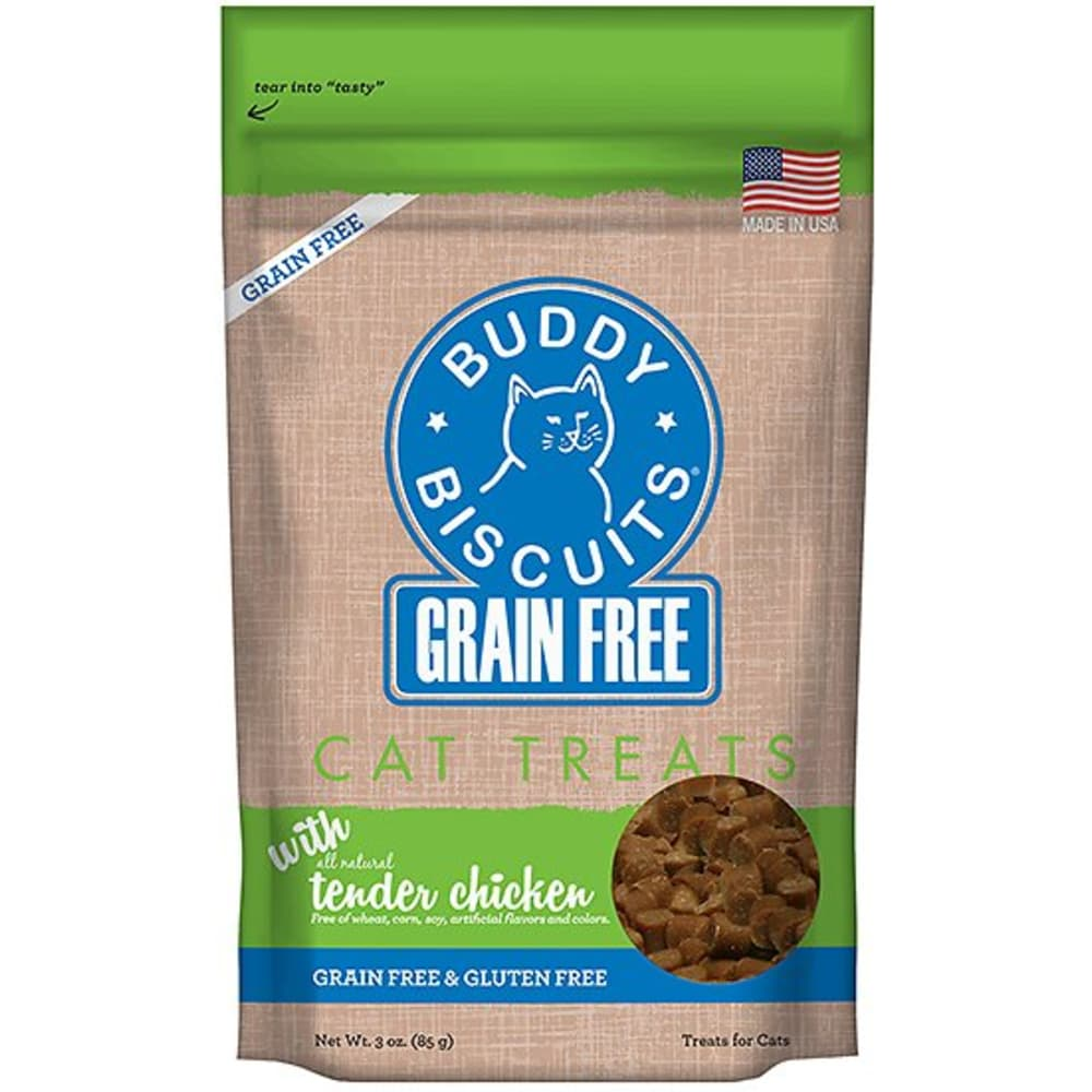 Cloud Star - Buddy Biscuits Chicken Grain Free Cat Treat, 3oz