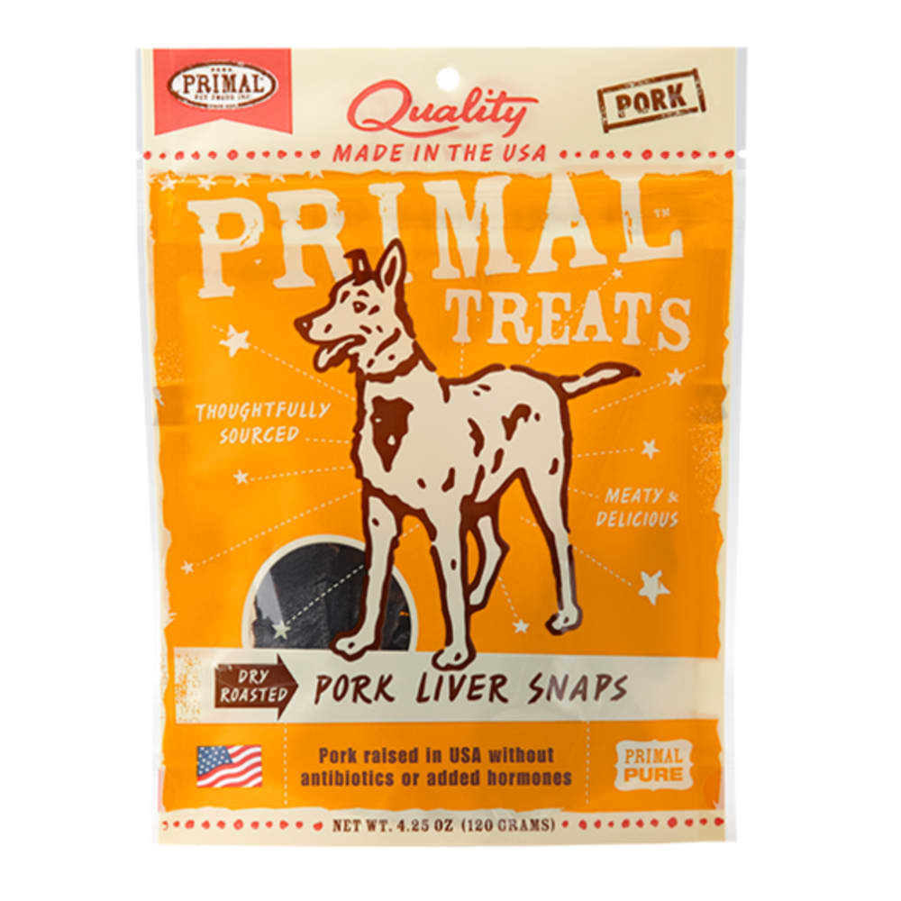 Primal - Pork Liver Snap, 4.25oz