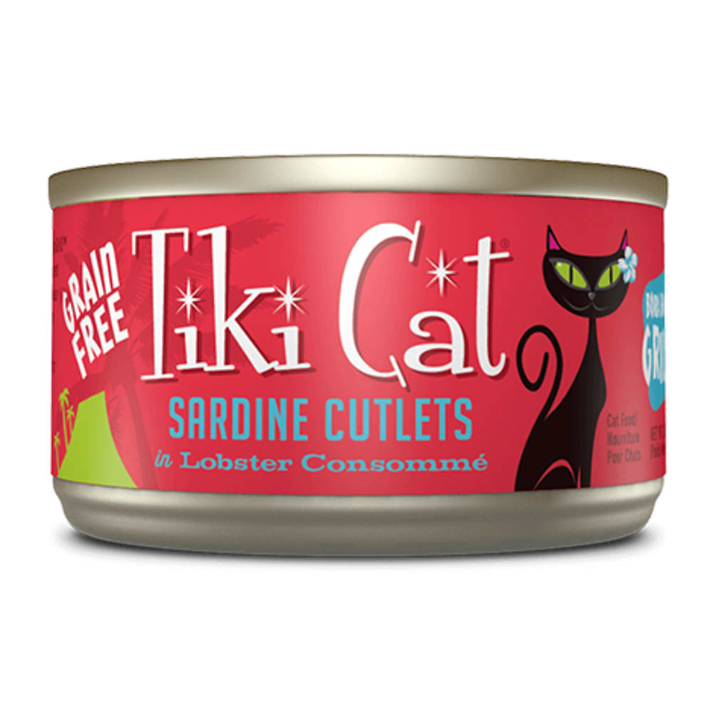Tiki Cat - Bora Bora Grill Sarine Cutlets In Lobster Consomme, 2.8oz