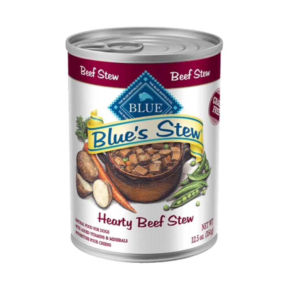 Blue Buffalo - Hearty Beef Stew Wet Dog Food, 12.5oz