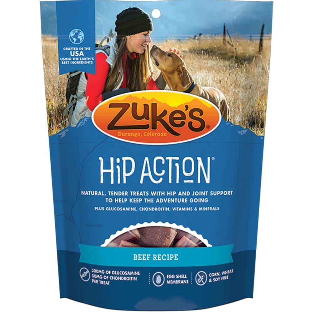 Zuke's - Hip Action Roasted Beef Recipe Dog Treat