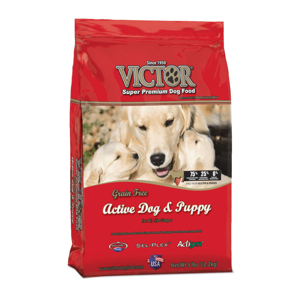 Victor - Active Dog & Puppy Formula Dog Food