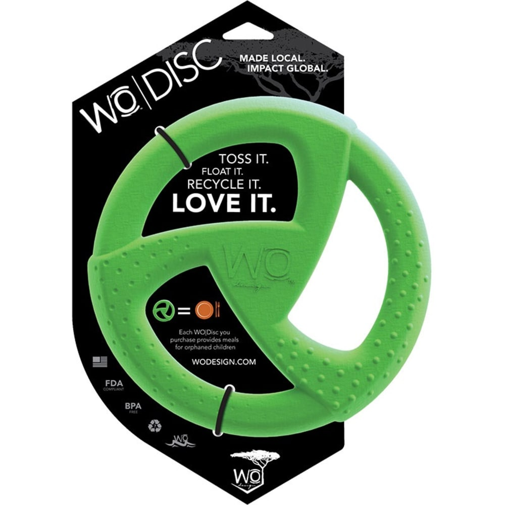 WO - Disc Dog Toy Green
