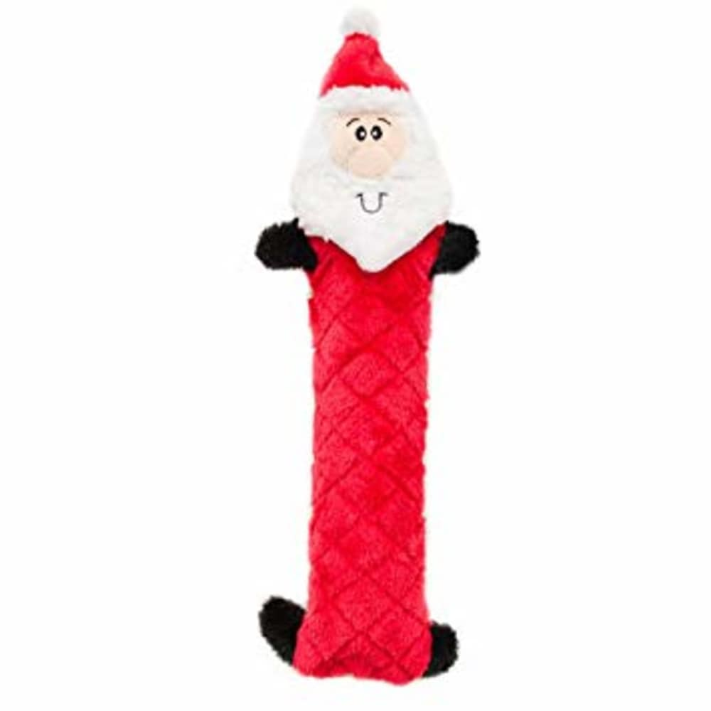Zippy Paws - Holiday Jigglerz Santa Dog Toy