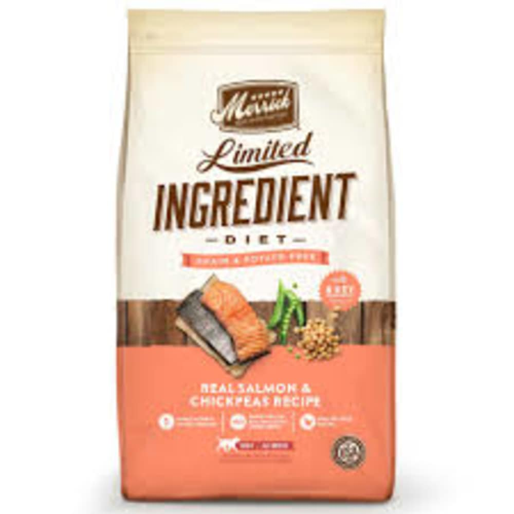 Merrick - Limited Ingredient Diet Real Salmon & Chickpea Recipe Grain-Free Dry Dog Food