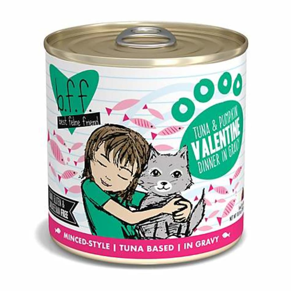 Weruva - BFF Tuna & Pumpkin VALENTINE In Gravy Recipe Grain-Free Canned Cat Food