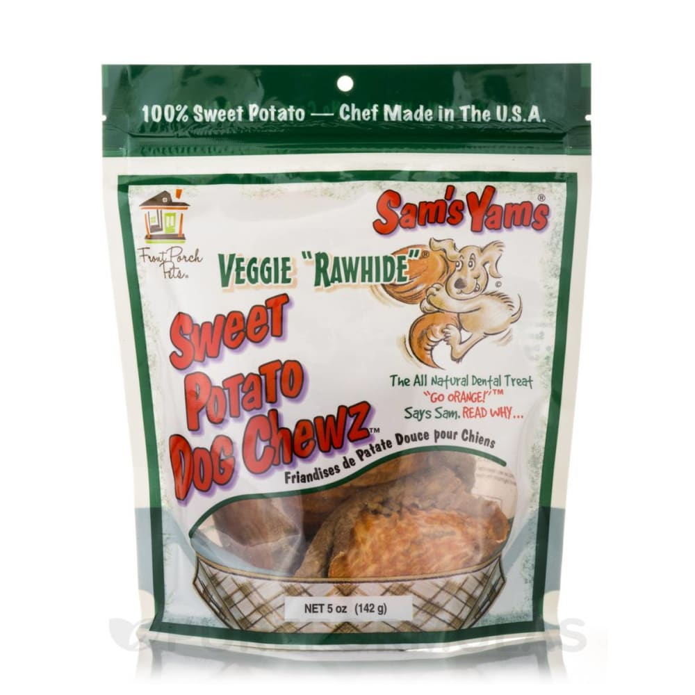Sam's Yams - Veggie Rawhide Sweet Potato Dog Treats