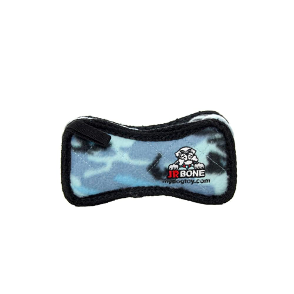 VIP Products - Tuffy Jr. Camo Blue Bone Dog Toy