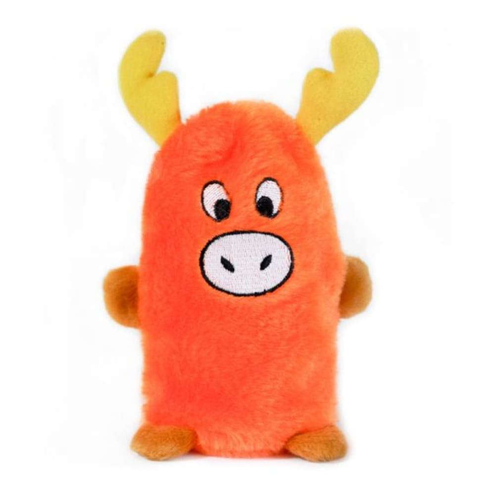 Zippy Paws - Buddie Moose Squeaking Dog Toy