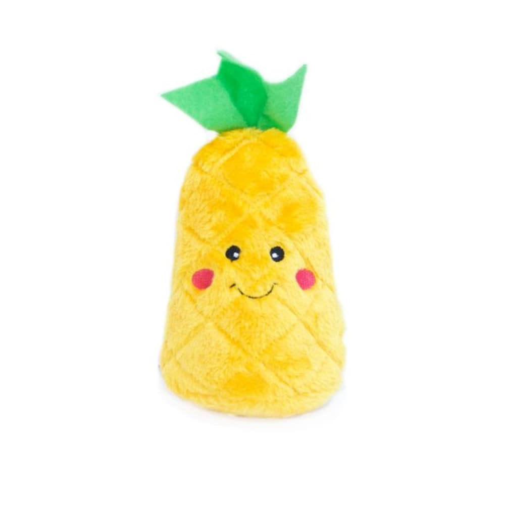 Zippy Paws - NomNomz Pineapple Squeaking Dog Toy