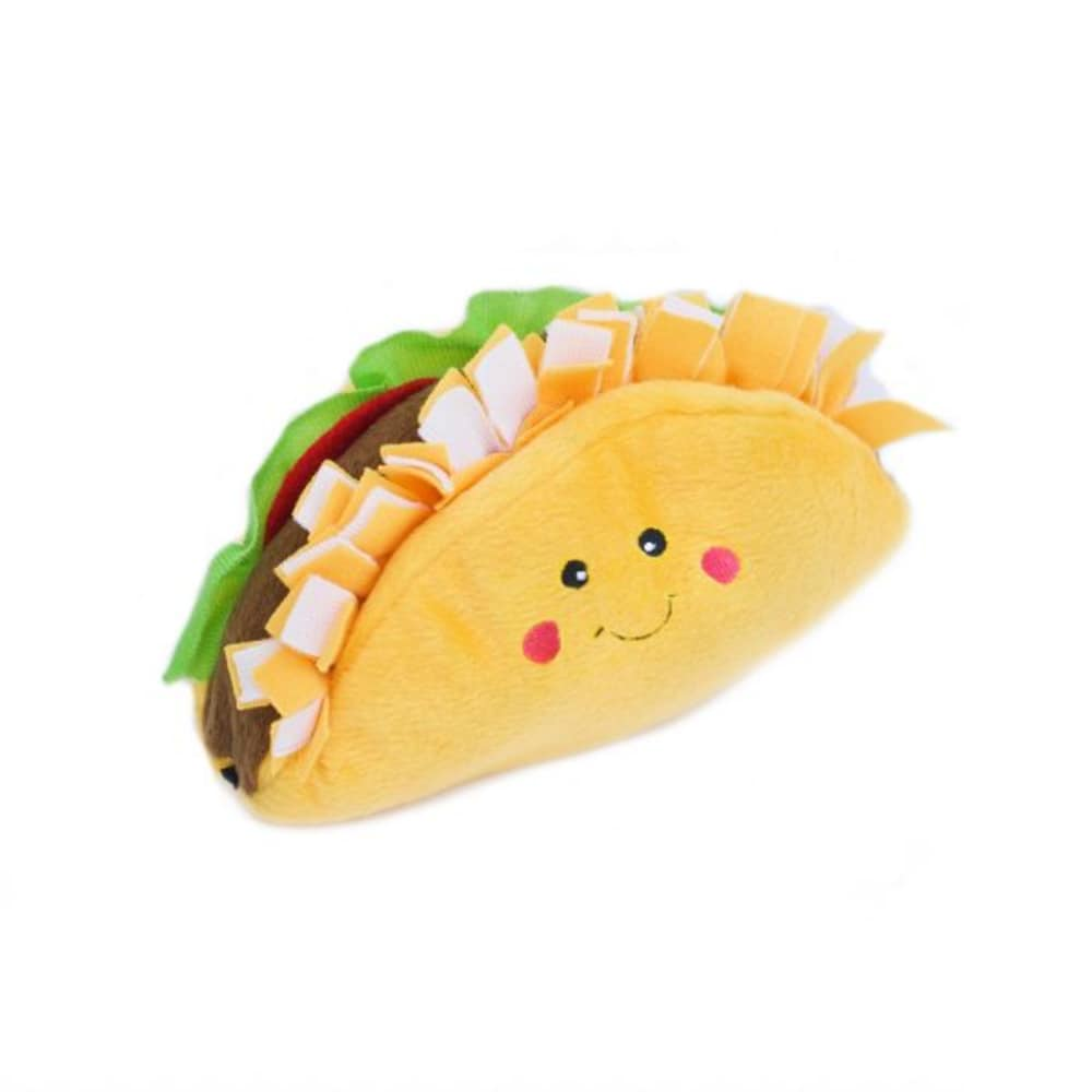 Zippy Paws - NomNomz Taco Squeaking Dog Toy