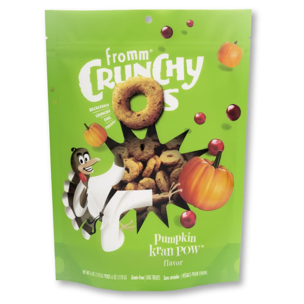 Fromm - Crunchy Os Pumpkin KranPOW Flavor Dog Treats, 6oz