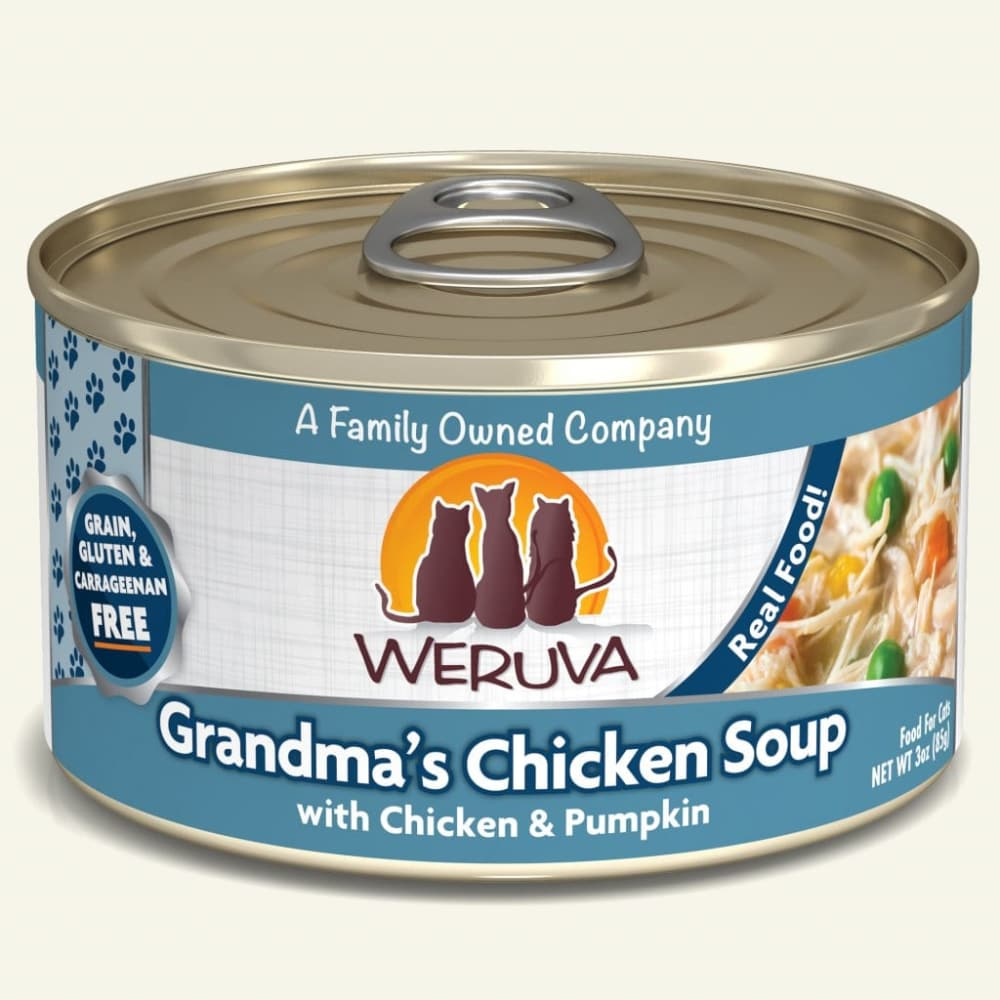 Weruva - Grandma's Chicken Soup With Chicken & Pumpkin Grain-Free Canned Cat Food
